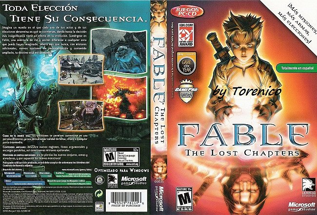 Fable The Lost Chapters [PC][Español][WU-FLS-FSN-BS-UP-FJ]