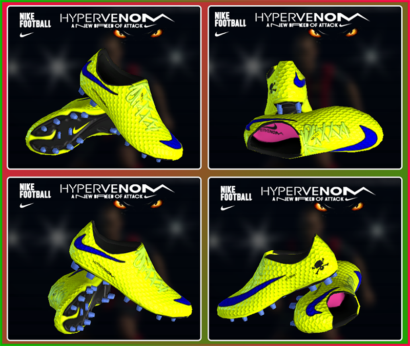 PES 2013 Nike Hypervenom Yellow 2015 by Enzo-Pes