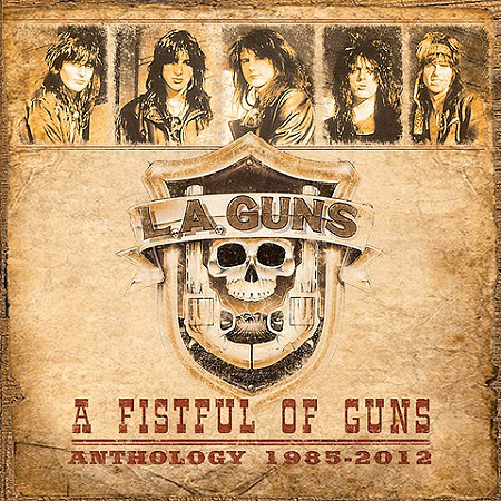 L.A. Guns – A Fistful of Guns: Anthology 1985-2012 (2017) mp3 - 320kbps