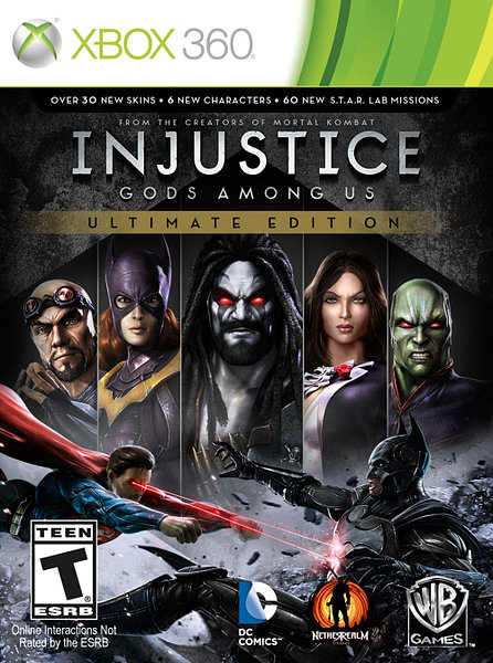 Injustice Gods Among Us Ultimate Edition [Espa�ol] [R.FREE] [XGD2] [2013] [UL-RG]