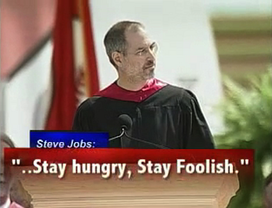 Steve Jobs en universidad de Stanford, 2005