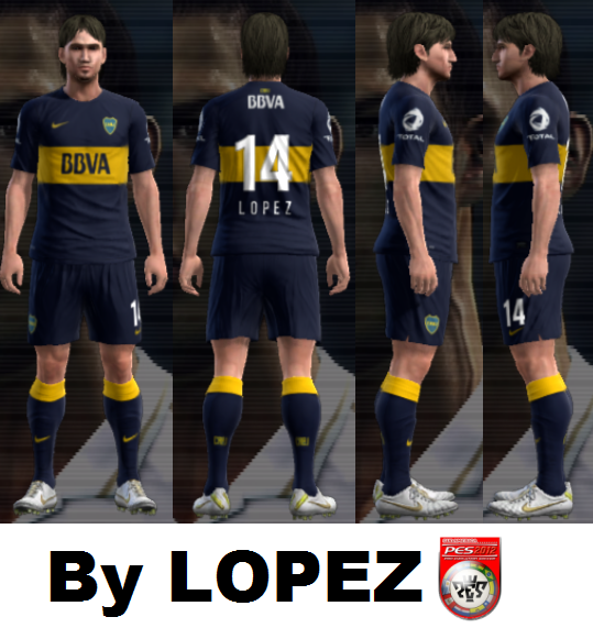 Kits Boca Juniors Temporada 2012 2013