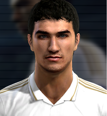 Nuri sahin face for Pro Evolution Soccer PES 2013 made by ...