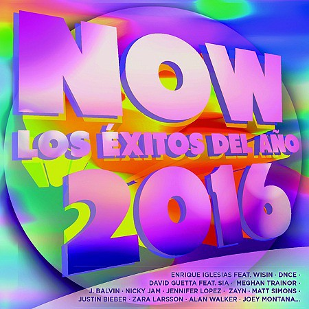 V.A. Now - Los éxitos del año 2016 (2016) mp3 320kbps