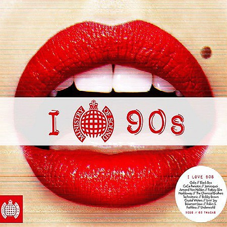Ministry Of Sounds - I Love The 90s (2016) mp3 - 320kbps