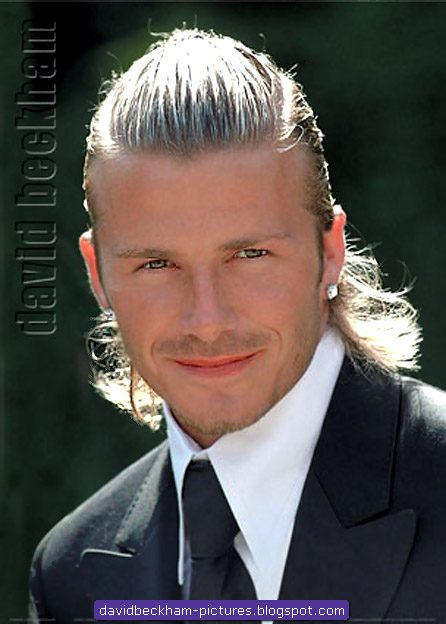 david beckham hair. David Beckham Hair Style: