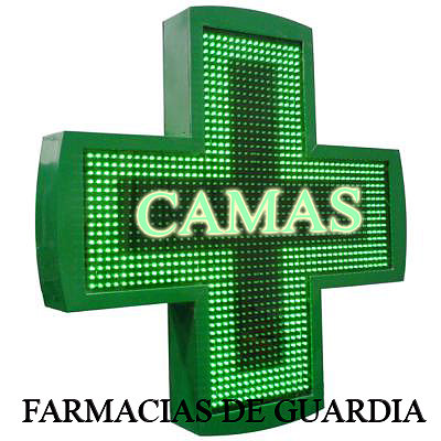 FARMACIAS DE GUARDIA DE  CAMAS