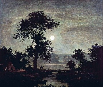 Ralph Blakelock. Moonlight