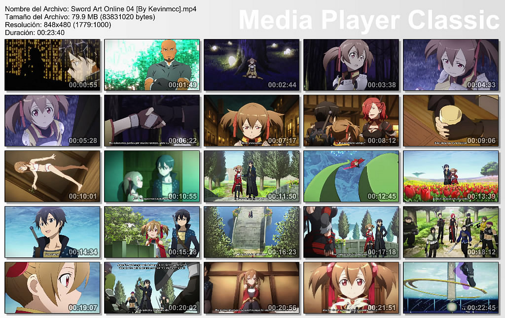 [Anime] Sword Art Online [05/??] [MP4] [MF]