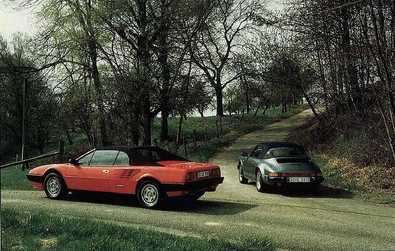 ferrari mondial vs porsche 911 carrera forocoches. Black Bedroom Furniture Sets. Home Design Ideas