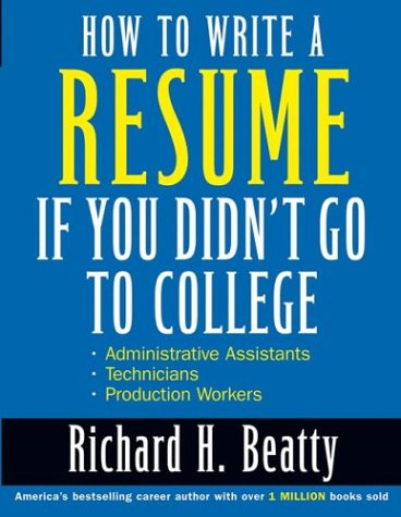 How to Write a Resume if You Didn't Go to College Download Torrent