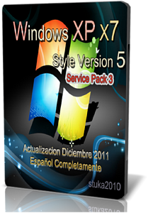 Windows XP X7 Style V5 Sp3 [Desatendido] [Español]