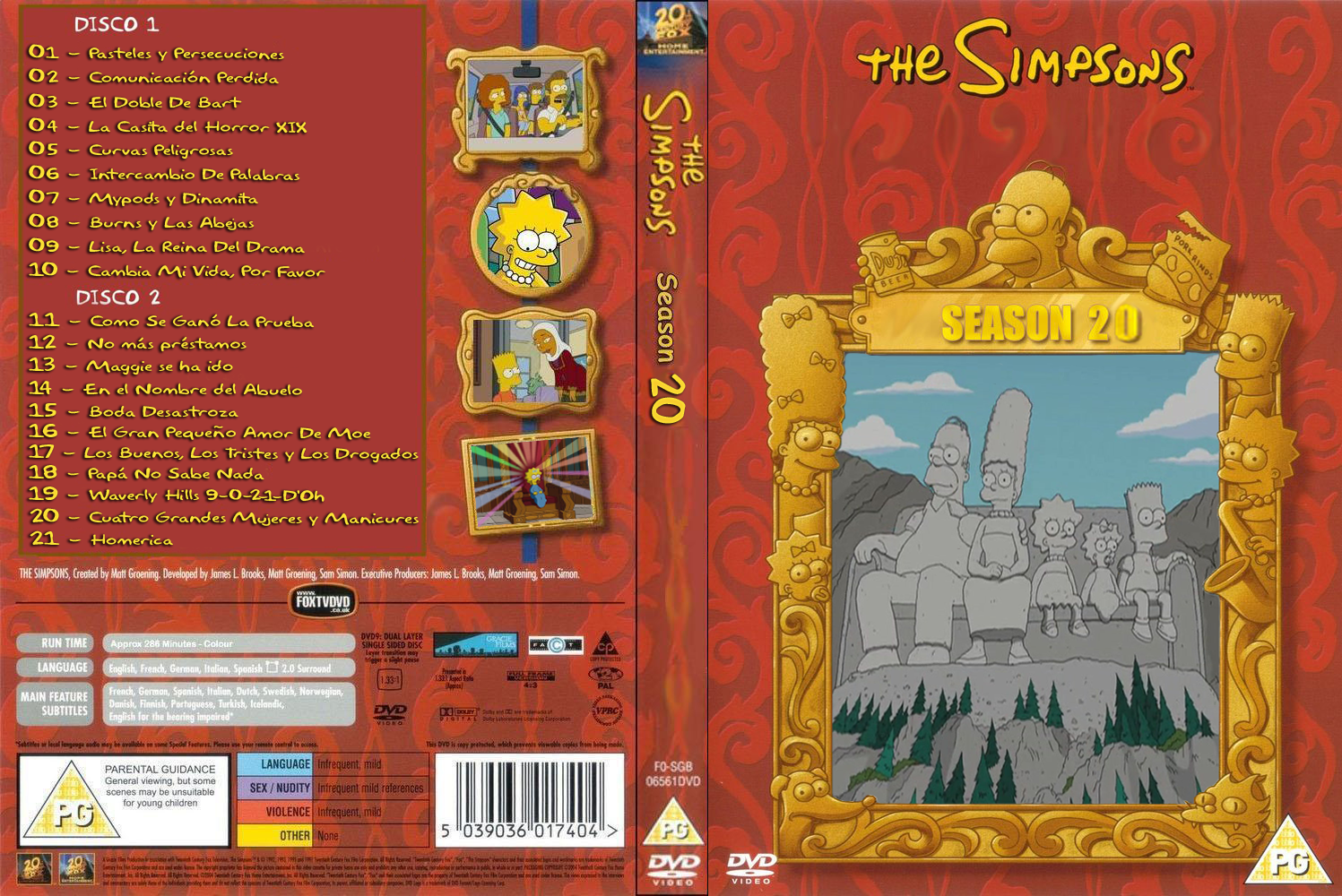 • Todas las temporadas de Los Simpsons | MF | Latino |