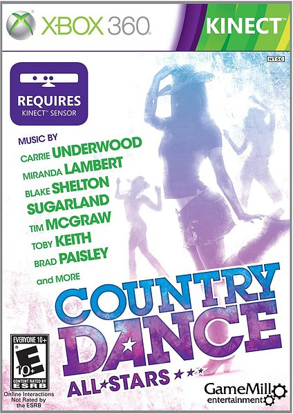 Country Dance All Stars (X-BOX 360) 2012