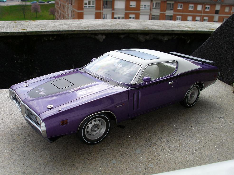 Dodge Charger R T 1971 Ertl Rc2 American Muscle