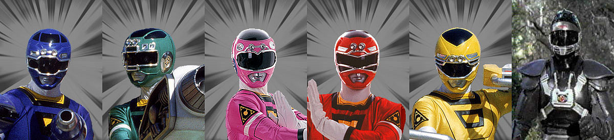 Power Rangers Turbo  Temporada Completa