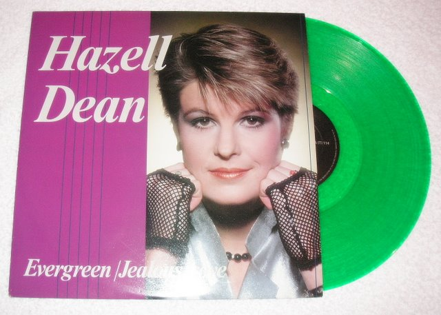 HAZELL DEAN - Evergreen / Jealous Love (Maxi Single)