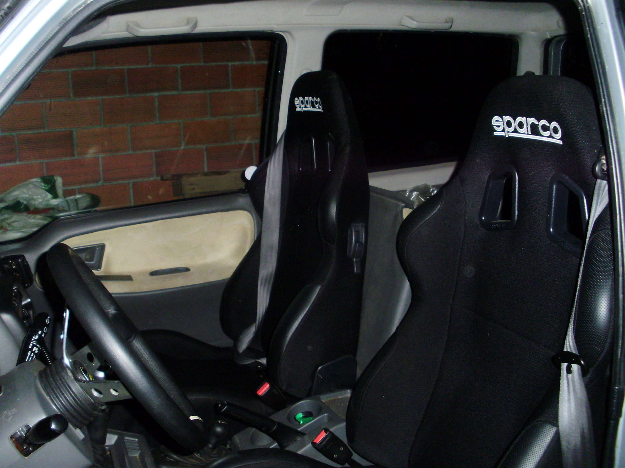 Sparco Torino Replacement Seat Covers Velcromag