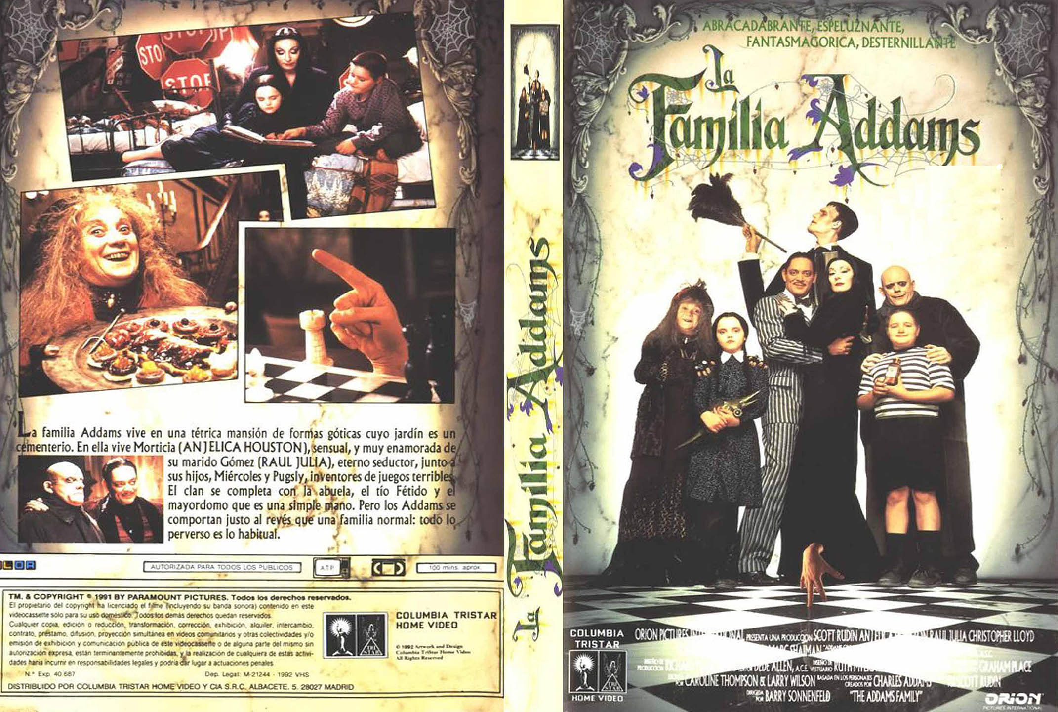 Adams family -1991- La Familia Addams   [ Mg., Mf. y Sf. ]