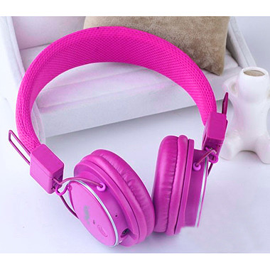 AUDIFONOS NIA BLUETOOTH FUCSIA