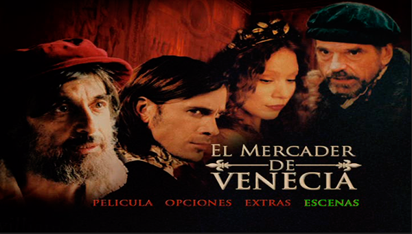 The merchant of venice el mercader de venecia dvd 5 for El mercader de venecia muebles