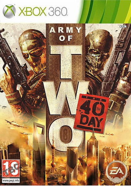 Army of Two: The 40th Day 2010 ESPAÑOL R.FREE XGD2 LB-RG-UL-RU-SHF