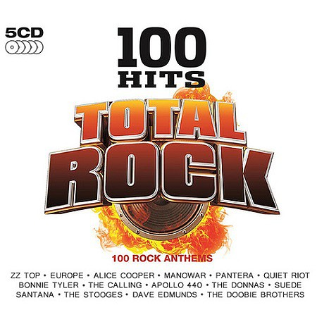 V.A. 100 Hits Total Rock (5CD) (2016) mp3 - 320kbps