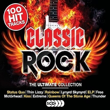 V.A. Classic Rock: The Ultimate Collection (2017) mp3 - 320kbps