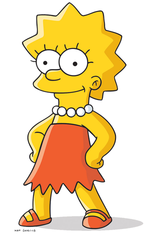 renders de los simpsons