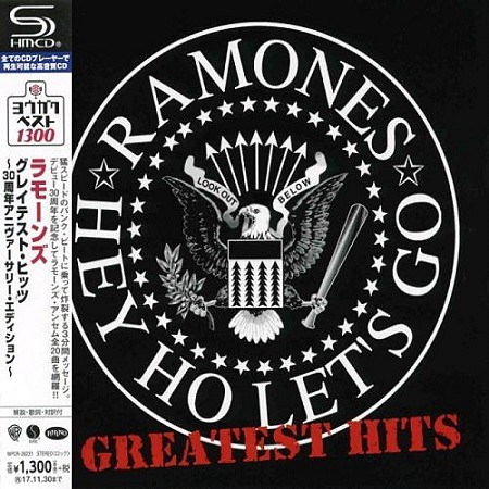 Ramones – Hey Ho Let's Go: Greatest Hits (Japanese Edition) (2006) mp3 - 320kbps