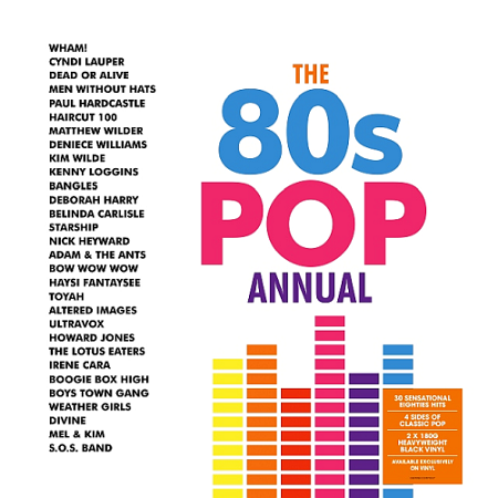 V.A. The 80s Pop Annual (2018)