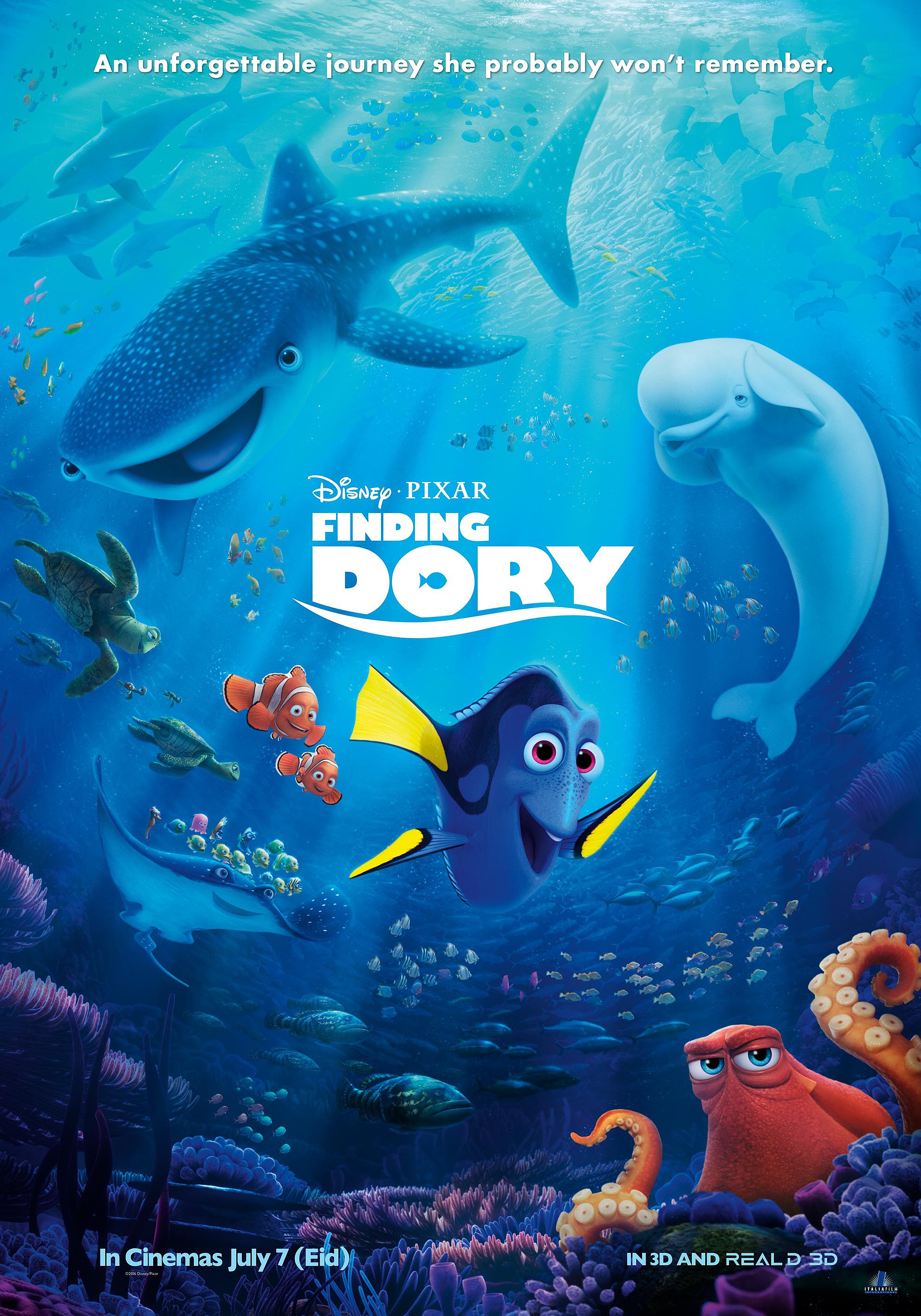 Buscando a Dory | 1080p | Latino Final