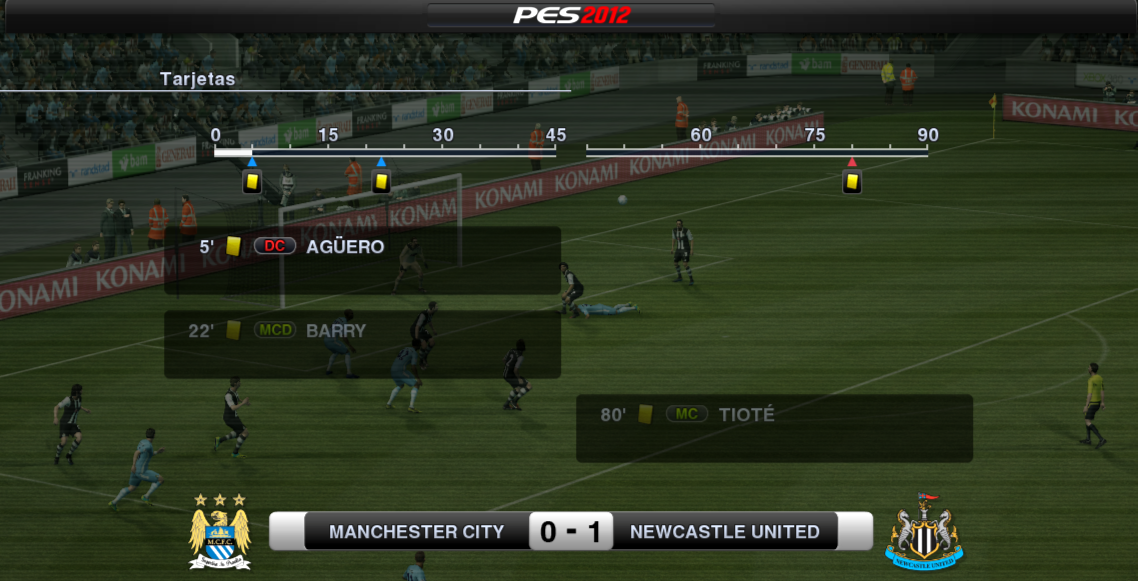 [Partido] M. City 0 - 1 Newcastle