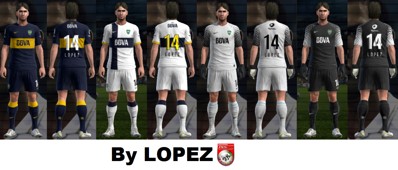 kit boca juniors pes 2012