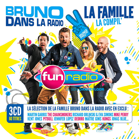 Fun Radio - Bruno Dans La Radio (2016) mp3 320kbps