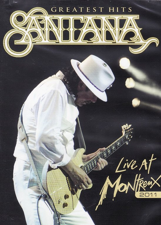 Nuevo!! Santana - Greatests Hits - Live at Montreux 2011 DVD
