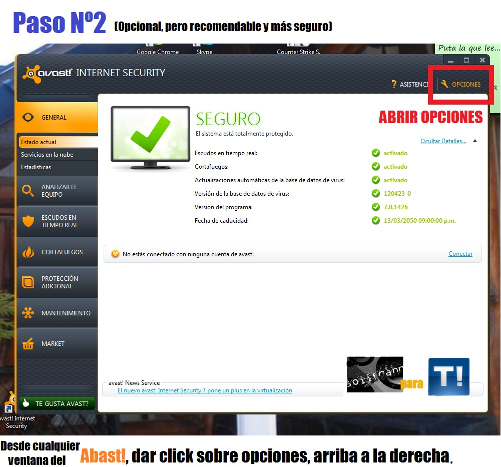 Avast! Internet Security v.7.0.1466 [Licencia hasta 2014] [FS]