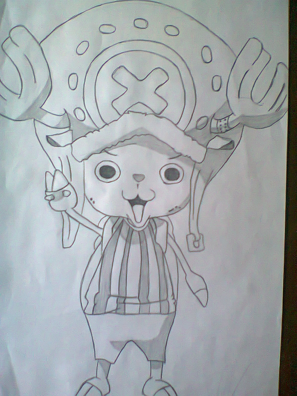Que opinan de mi dibujo de chopper de one piece yahoo for Dibujos one piece