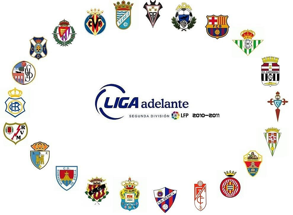 liga adelante table