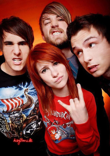 Fotos de Paramore,Hayley Williams,Jeremy Davis y Taylor York