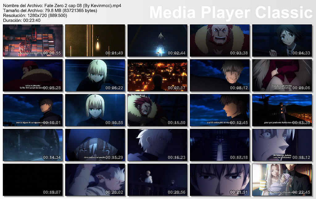[Aporte] Fate-Zero 2 capitulo 8 [MF][Mp4]