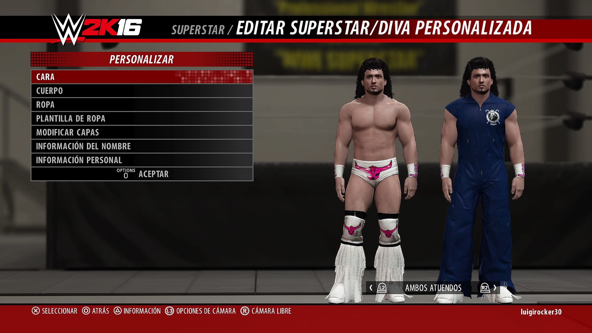 030116 Aaa And Cmll Caws Ps4 Wwe 2k16 Ps4 Cawsws Forum