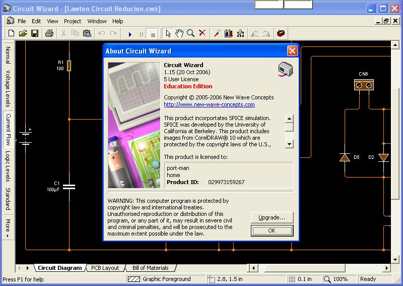 Download Circuit Wizard Xtronic