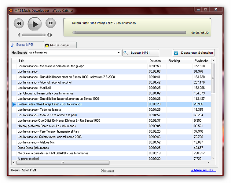musica para descargas de mp3: