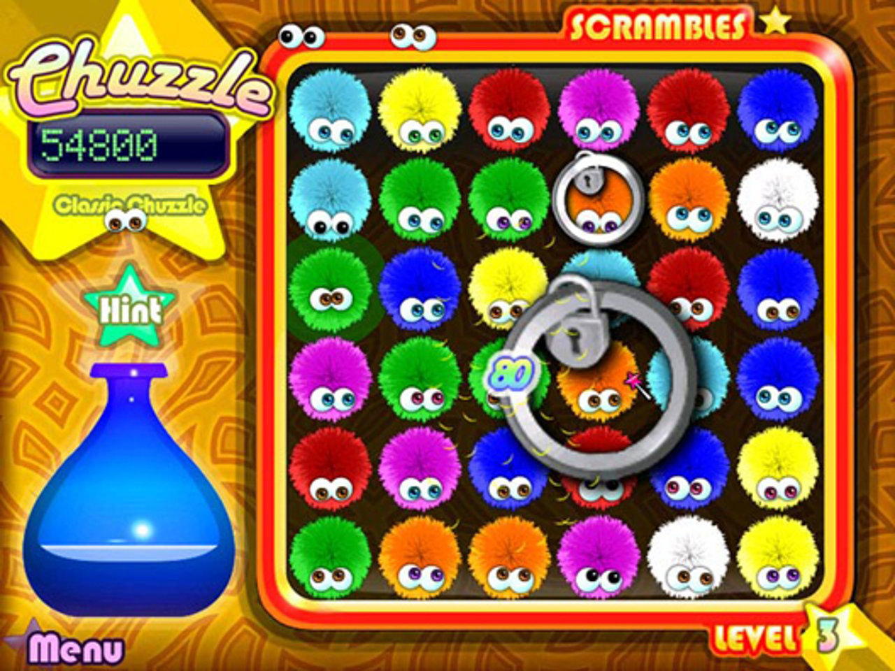 Chuzzle deluxe download (2005 puzzle game).