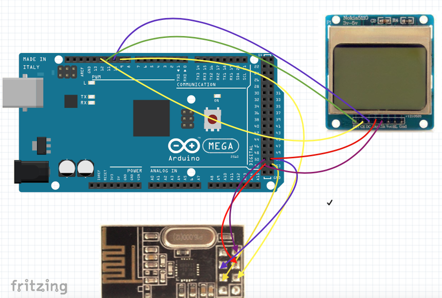 Arduino and display by i2c