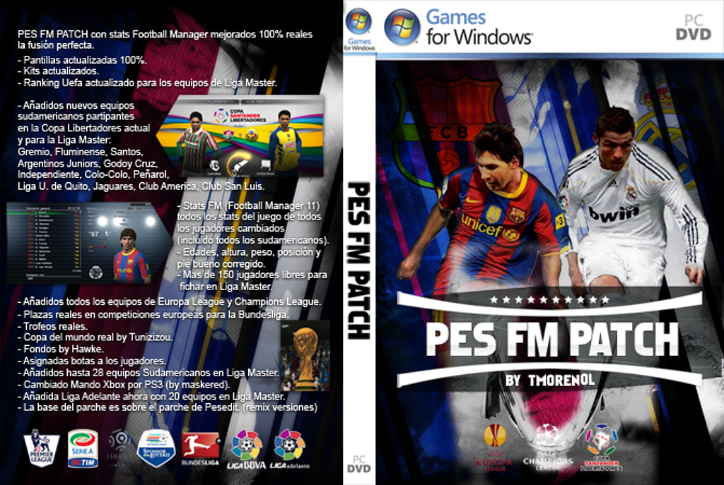 Latest patch for pes 2011 pc