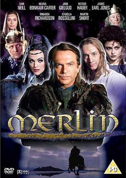Merlin 1 y 2 -1998- Sam Neill. [Mf. y Sf.]