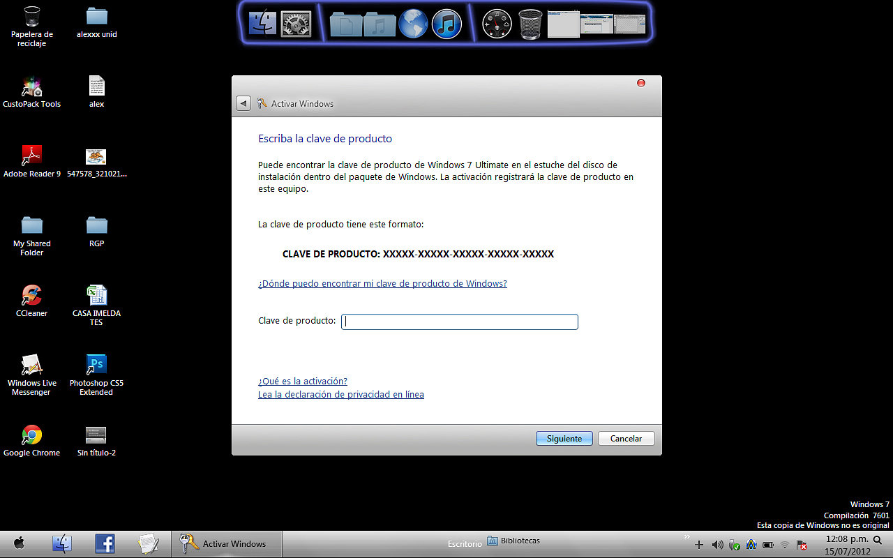 Activar Windows 7 Ultimate[Solucionado]