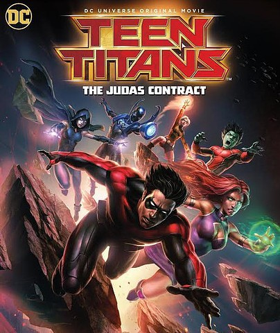 Teen Titans: The Judas Contract [DVD5] [Latino] 2017